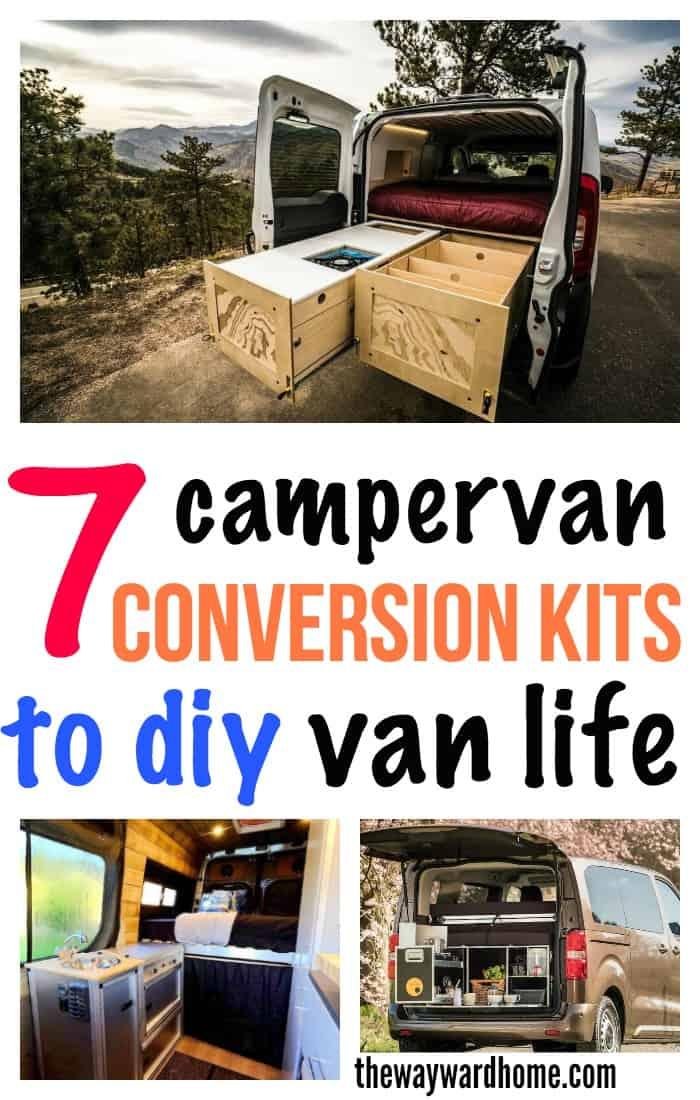 9 campervan kitchen design ideas for van life - The Wayward Home