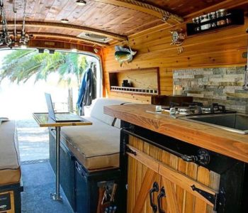 Campervan kitchen ideas to make van life cooking a breeze