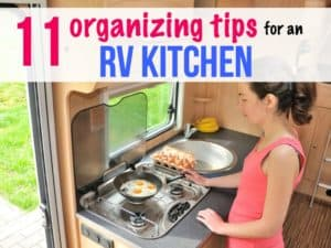 11 storage hacks for an RV kitchen