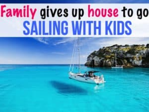Family of five gives up house and jobs to go sailing full-time with kids