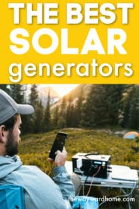 The best solar generators for camping