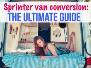Sprinter van conversion: the ultimate guide to a Sprinter campervan