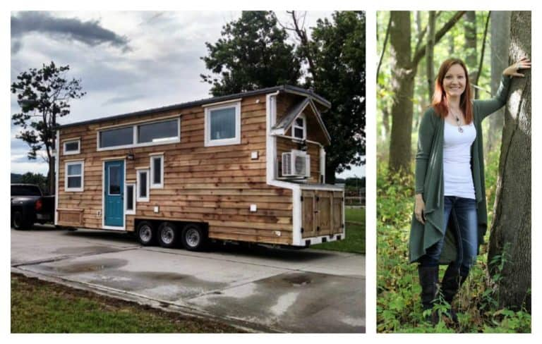 Tiny Home helps hoarder