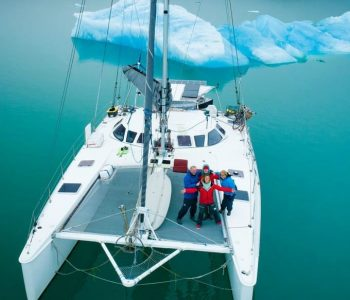 SF couple quits jobs to sail the world in this gorgeous catamaran