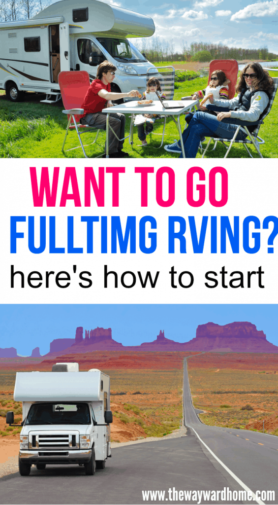 How to get started full-time RVing