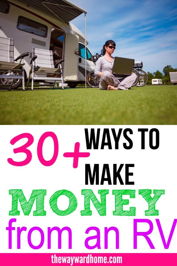 ways to make money while RVing