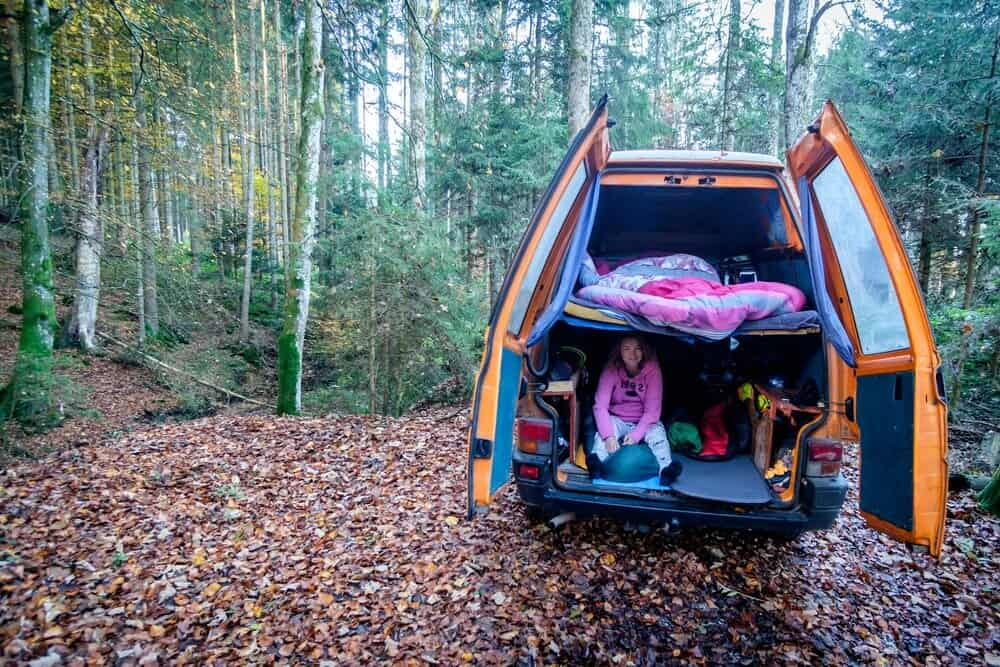 Living in your DIY campervan