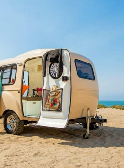 Happy Campers Small Camping Travel Trailer