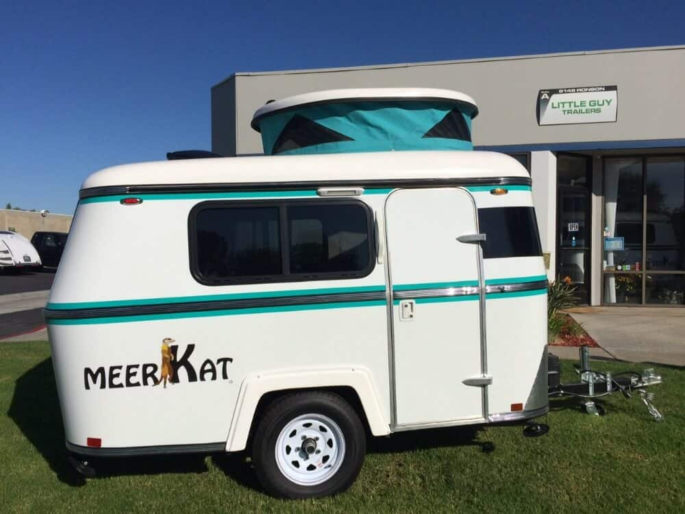 The MeerKat is a cute small camper that can be towed with a variety of cars