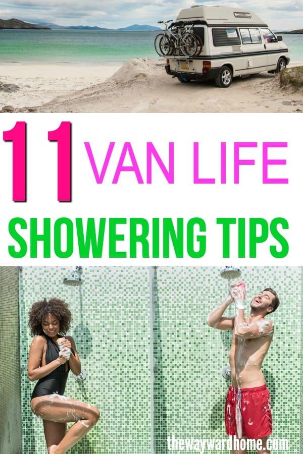 VAN LIFE PUBLIC SHOWERS