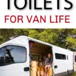 best portable toilet for van life