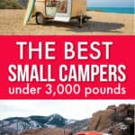 the best small campers under 3,000 pounds