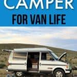 chevy astro van camper