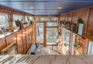 Interior view of the Cornelia Tiny House for Sale