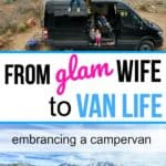 Glam Wife to Van Life: Embracing a Sprinter Campervan