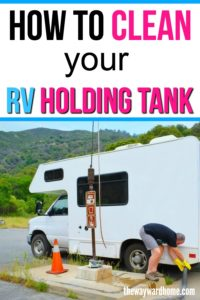RV Black Water tank Cleaning