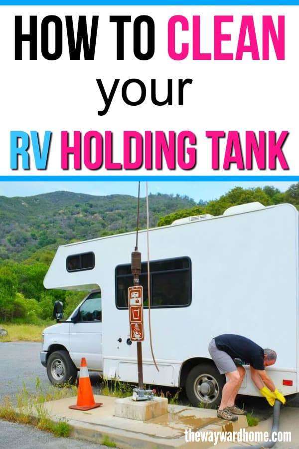 How to clean your RV black water tank and sensors - The Wayward Home