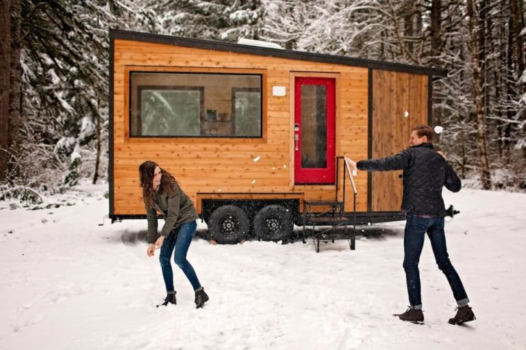 The Craftsman Tiny Home for Sale - Exterior