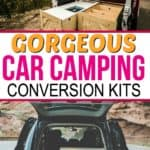 Car camping conversion kits by Contravans