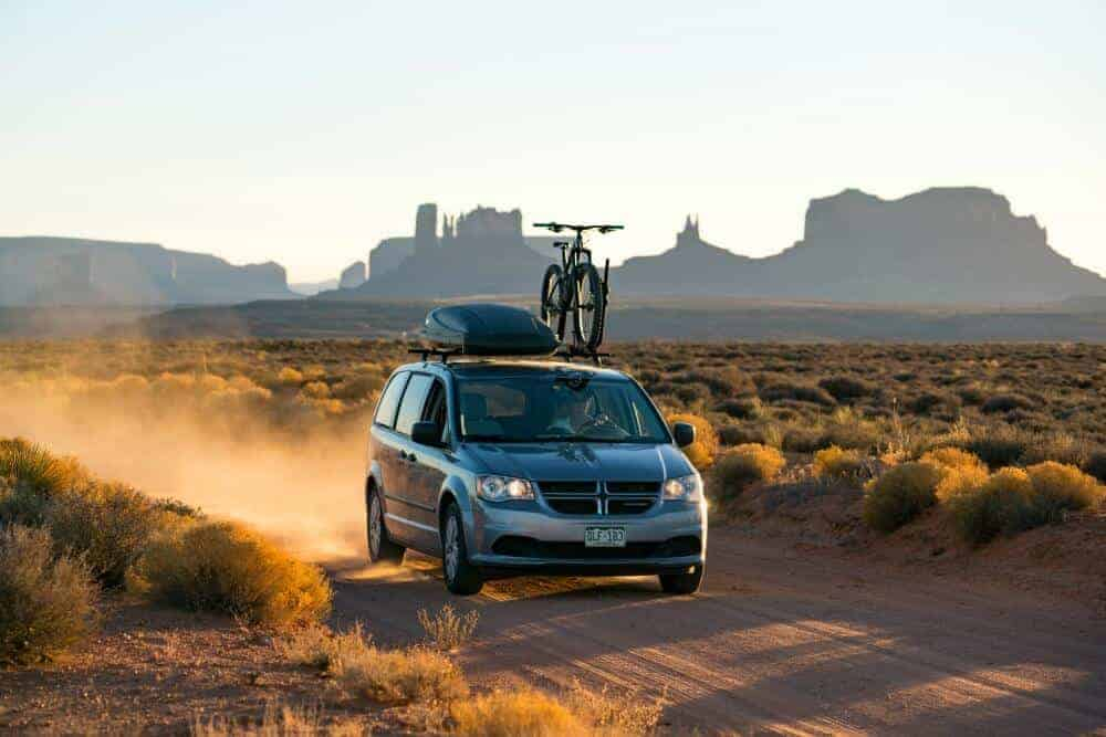Contra Minivan Camper Monument Valley