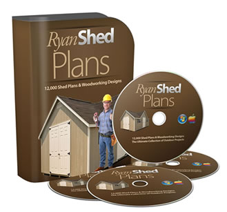 Ryan's shed Plans to build your own shed house