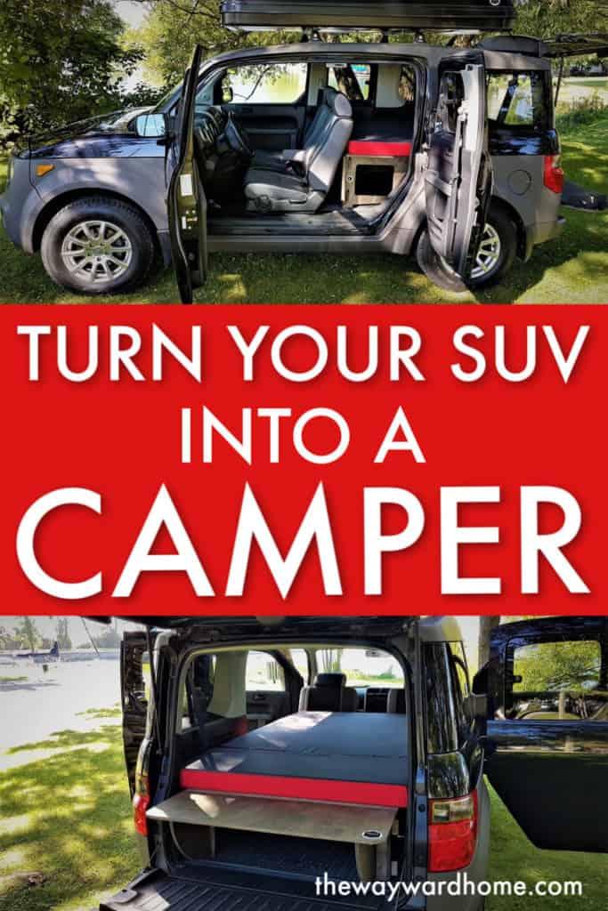 Suv Camper Kit
