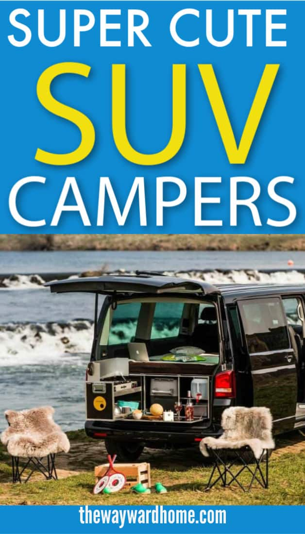 SUV camper conversions for an outdoor trip