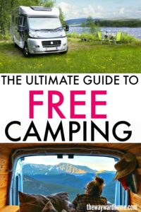 How to go RV boondocking and find free campsites