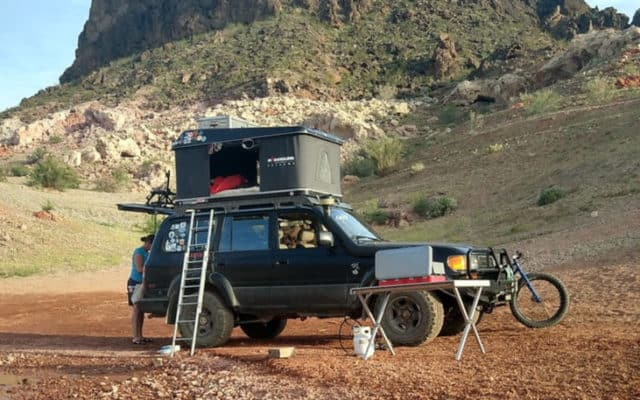 Couple spends 2.5 years in a rooftop tent