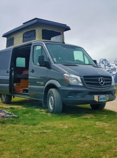 Sprinter 4x4 camper by Sportsmobile is up for rent
