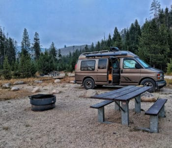Van life couple leaves 'burbs for the open road