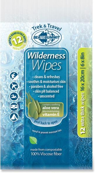 Wilderness wipes are definitely one of a few van life essentials for staying clean