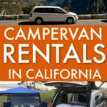campervan rentals in california