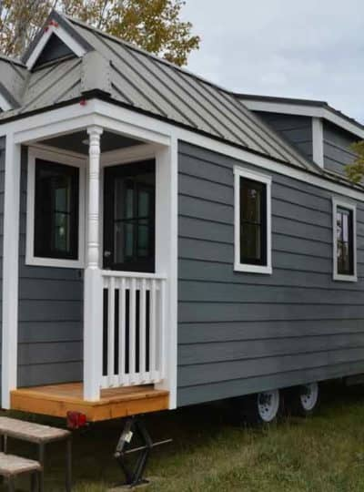 Cypress Tumbleweed Tiny House on Wheels