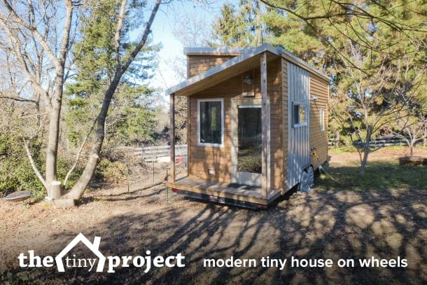 Tiny House on Wheels Plans by Tiny House Project