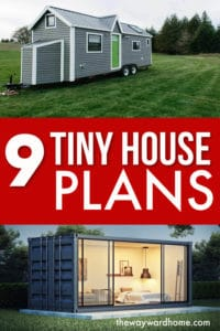 9 tiny house plans to DIY your tiny home