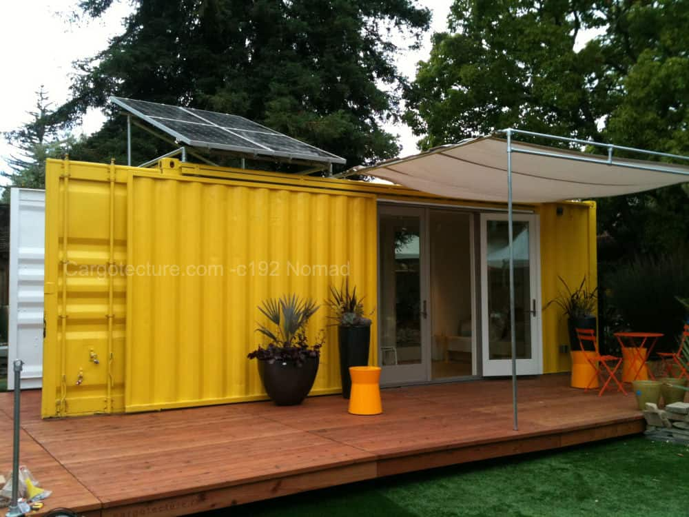 Cargotecture container home