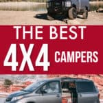 The best 4x4 campers