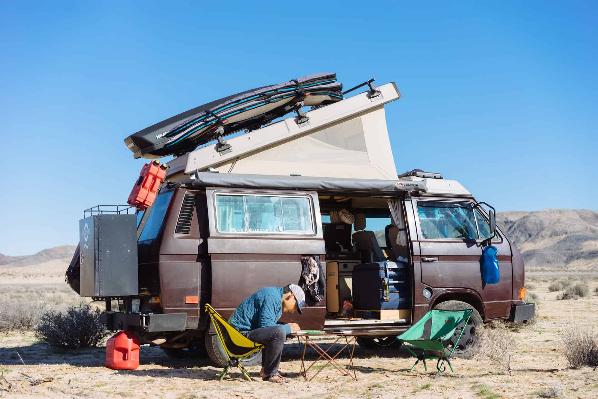 Mak and Owen's VW Westfalia