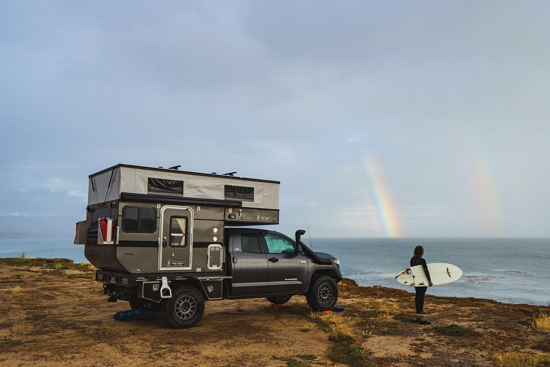 Bound for Nowhere Four Wheel Truck Camper
