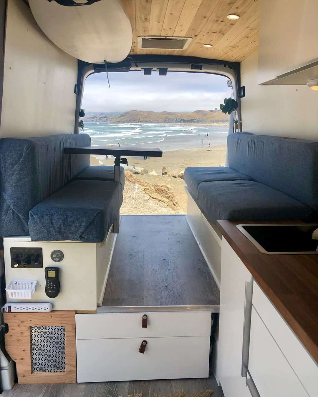 Ford Transit Campervan Interior
