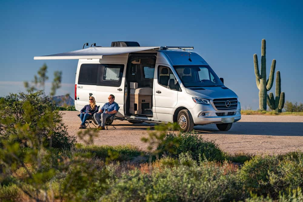 This adventure van by Winnebago takes you to remote places