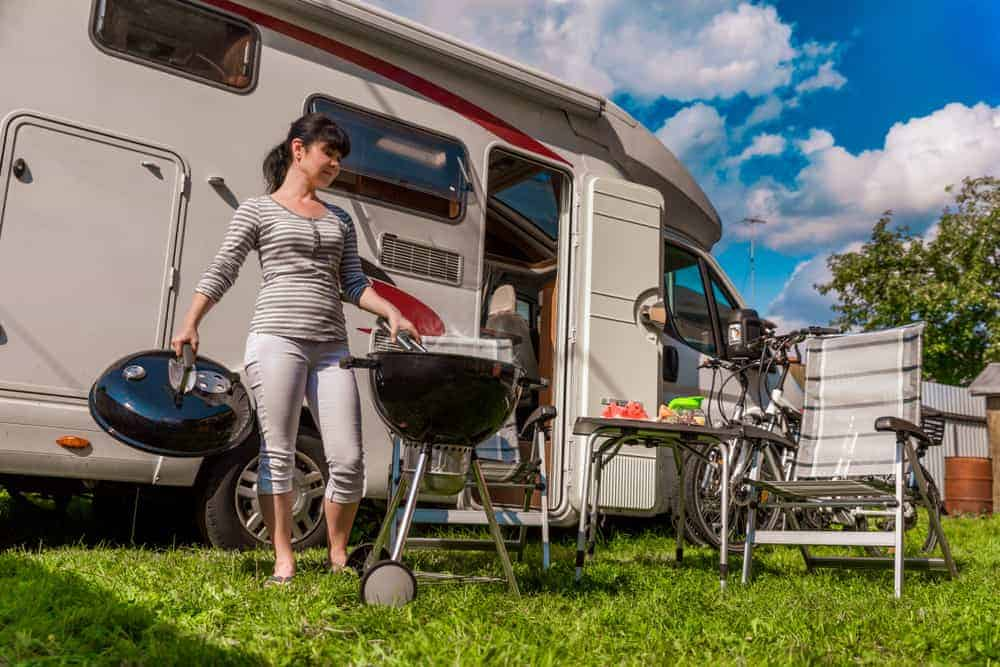 best camping grills for RVing