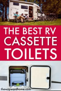THE BEST CASSETTE TOILETS FOR RVING