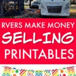 Rvers make money with Etsy printables