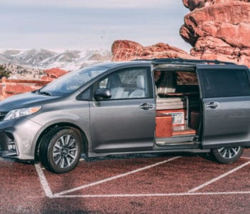 Toyota Sienna camper is an affordable custom build