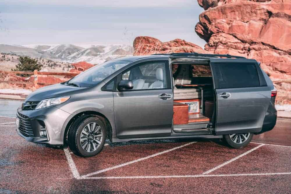 Toyota Sienna Camper: 10 Camper Conversion Ideas