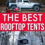 the best rooftop tents for your SUV, car or truck