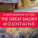 10 reasons to visit the Great Smoky Mountains in fall
