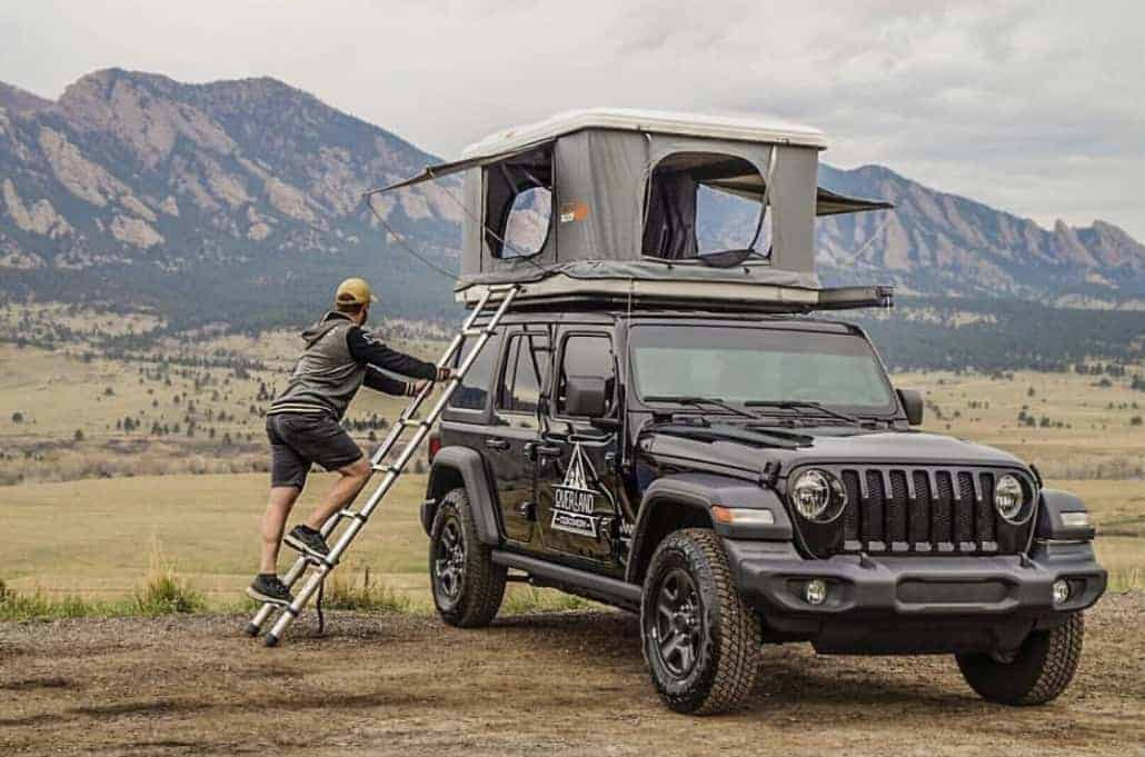 Roofnest Eagle pop up rooftop tent camper